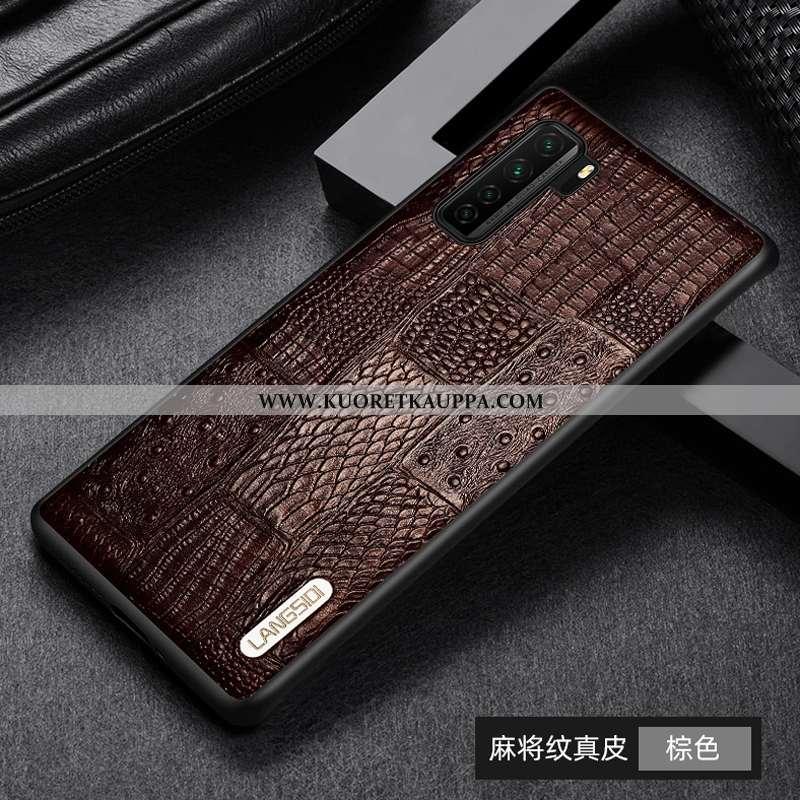 Kuori Huawei P40 Lite 5g, Kuoret Huawei P40 Lite 5g, Kotelo Huawei P40 Lite 5g Aito Nahka Suojaus Al