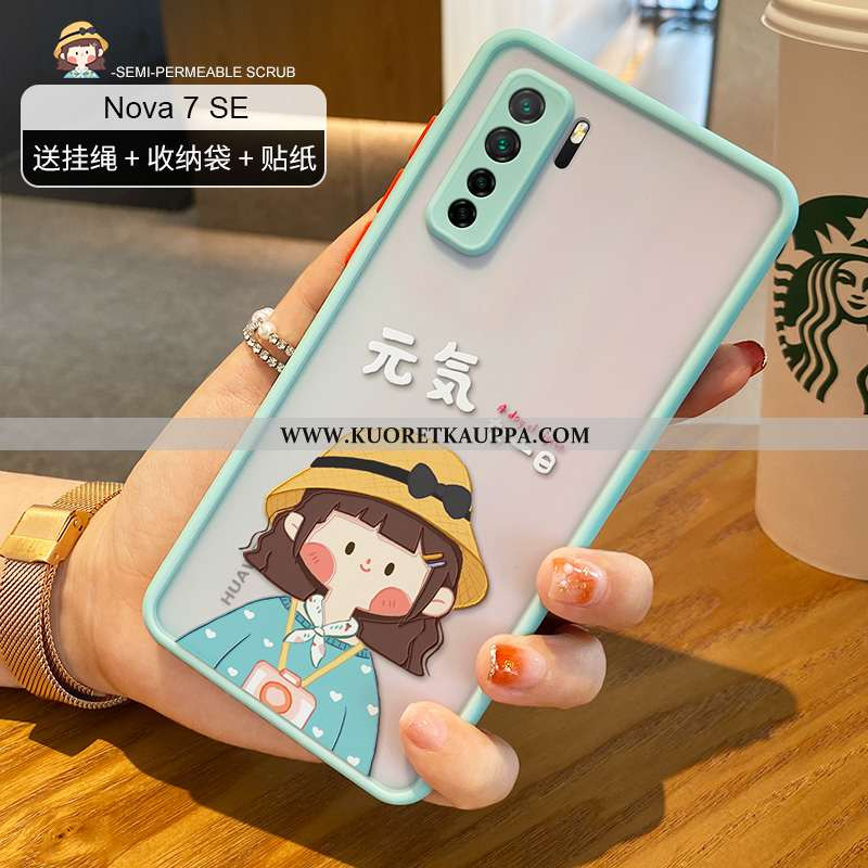 Kuori Huawei P40 Lite 5g, Kuoret Huawei P40 Lite 5g, Kotelo Huawei P40 Lite 5g Läpinäkyvä Pesty Sued