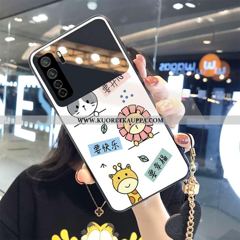 Kuori Huawei P40 Lite 5g, Kuoret Huawei P40 Lite 5g, Kotelo Huawei P40 Lite 5g Suojaus Lasi Valkoine
