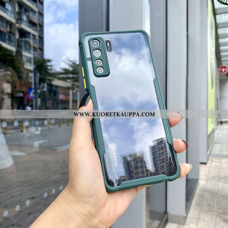 Kuori Huawei P40 Lite 5g, Kuoret Huawei P40 Lite 5g, Kotelo Huawei P40 Lite 5g Tila Läpinäkyvä Silik