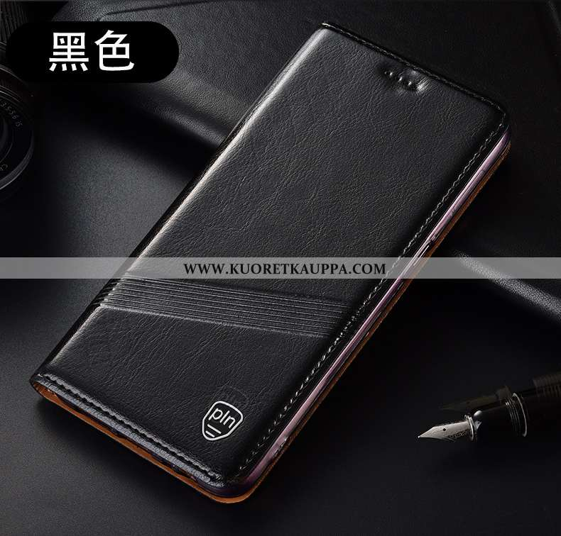 Kuori Huawei P40 Lite E, Kuoret Huawei P40 Lite E, Kotelo Huawei P40 Lite E Kukkakuvio Suojaus Musta