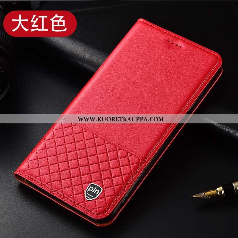Kuori Huawei P40 Lite E, Kuoret Huawei P40 Lite E, Kotelo Huawei P40 Lite E Nahkakuori Suojaus Ruudu
