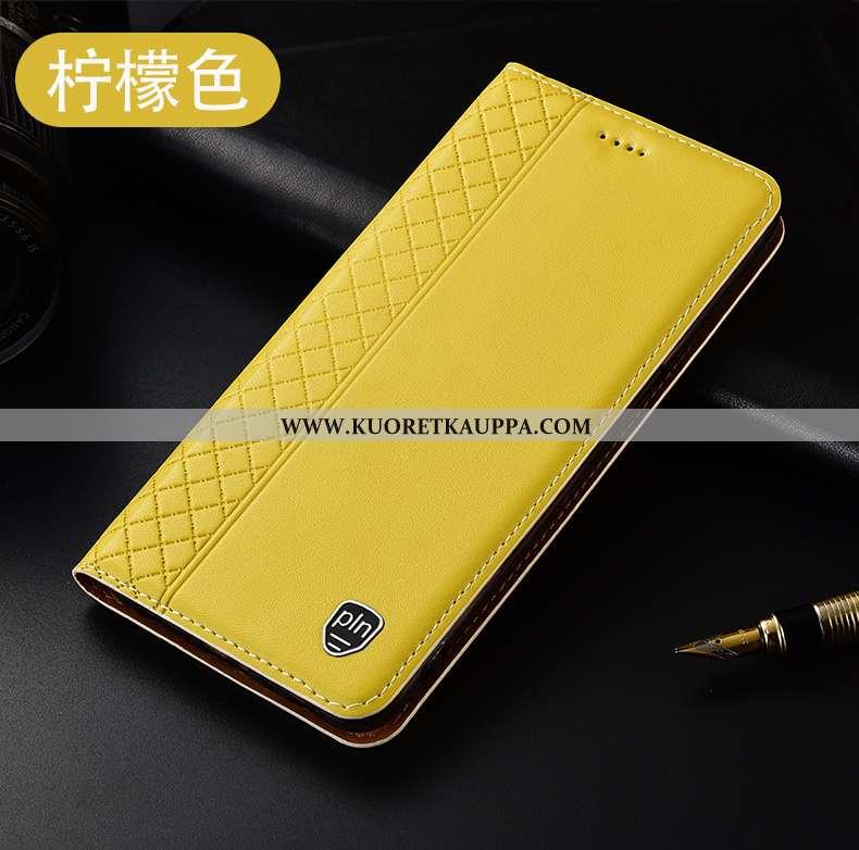 Kuori Huawei P40 Lite E, Kuoret Huawei P40 Lite E, Kotelo Huawei P40 Lite E Suojaus Nahkakuori All I