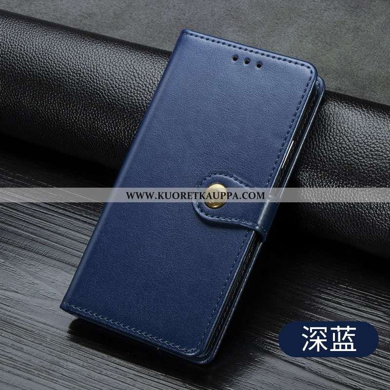 Kuori Huawei P40 Lite, Kuoret Huawei P40 Lite, Kotelo Huawei P40 Lite Tila Nahkakuori Murtumaton Puh