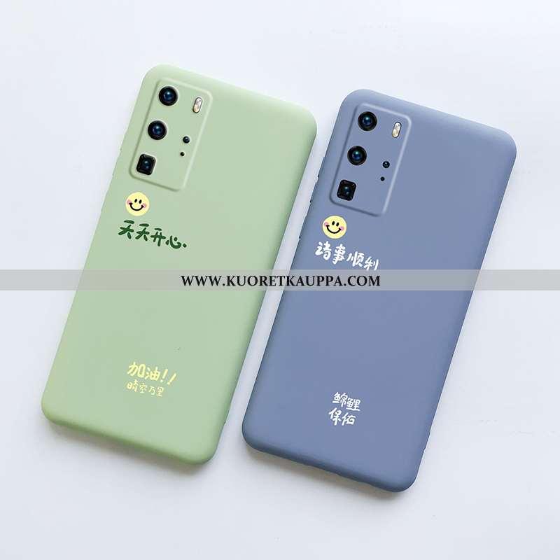 Kuori Huawei P40 Pro, Kuoret Huawei P40 Pro, Kotelo Huawei P40 Pro Valo Silikoni Suojaus Puhelimen N