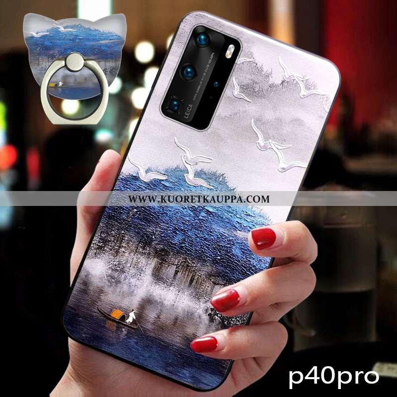 Kuori Huawei P40 Pro, Kuoret Huawei P40 Pro, Kotelo Huawei P40 Pro Vuosikerta Suuntaus Pehmeä Neste