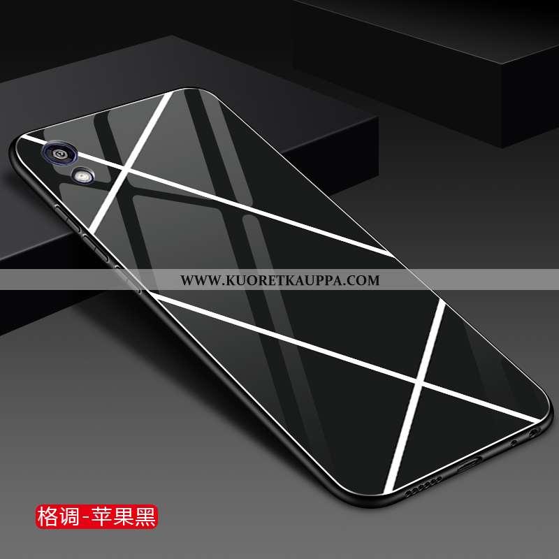 Kuori Huawei Y5 2020, Kuoret Huawei Y5 2020, Kotelo Huawei Y5 2020 Lasi Tila Kiinteä Väri Puhelimen