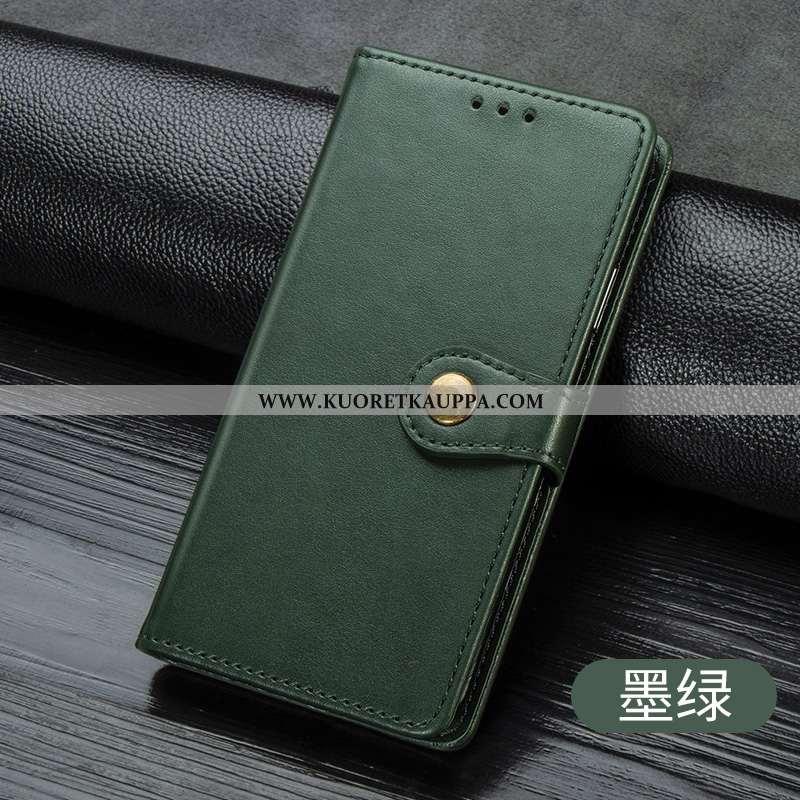 Kuori Huawei Y5 2020, Kuoret Huawei Y5 2020, Kotelo Huawei Y5 2020 Nahkakuori Salkku Kiinteä Väri Si