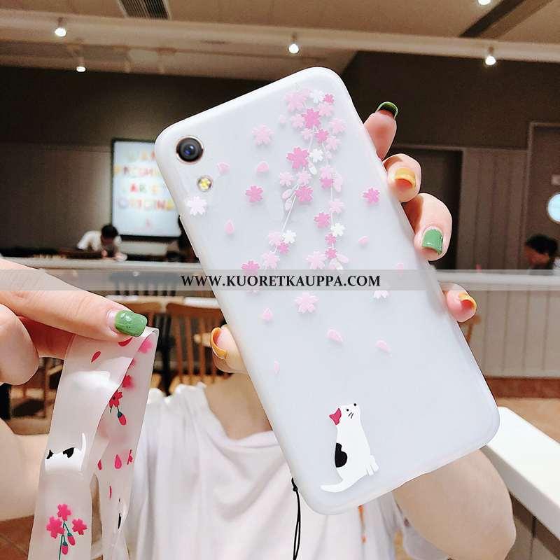 Kuori Huawei Y5 2020, Kuoret Huawei Y5 2020, Kotelo Huawei Y5 2020 Pehmeä Neste Valo Kirsikka Ultra