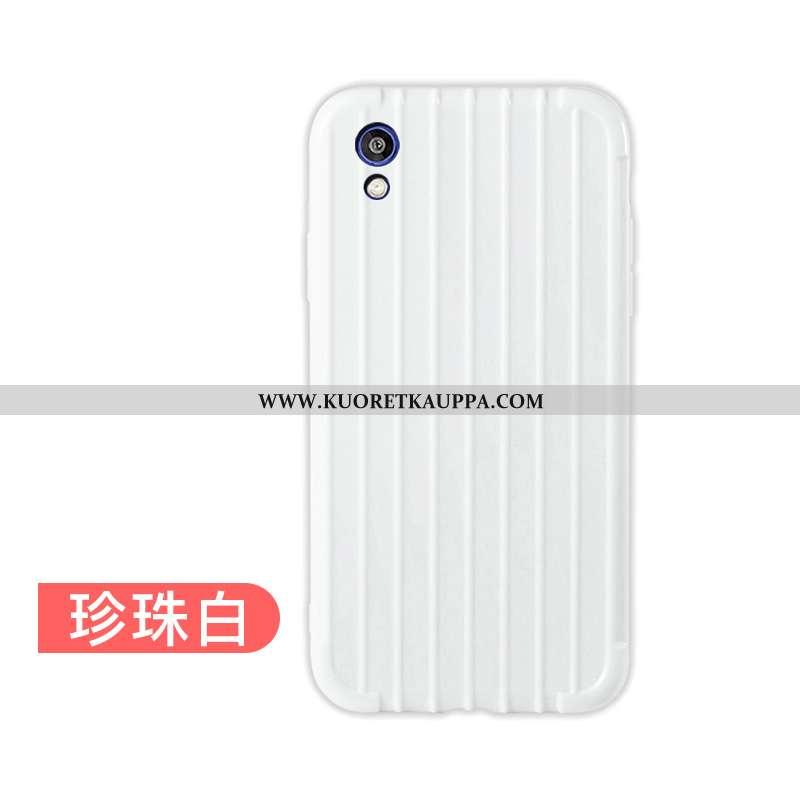 Kuori Huawei Y5 2020, Kuoret Huawei Y5 2020, Kotelo Huawei Y5 2020 Ultra Pehmeä Neste Valkoinen Kara