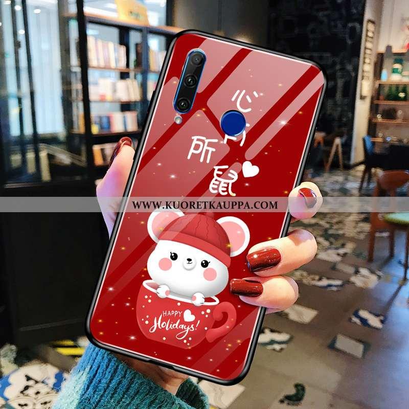 Kuori Huawei Y6p, Kuoret Huawei Y6p, Kotelo Huawei Y6p Ihana Suuntaus Yksinkertainen Punainen