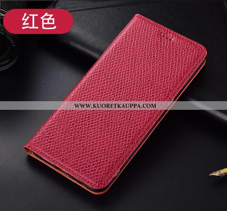 Kuori Huawei Y6p, Kuoret Huawei Y6p, Kotelo Huawei Y6p Kukkakuvio Suojaus Puhelimen Murtumaton Punai