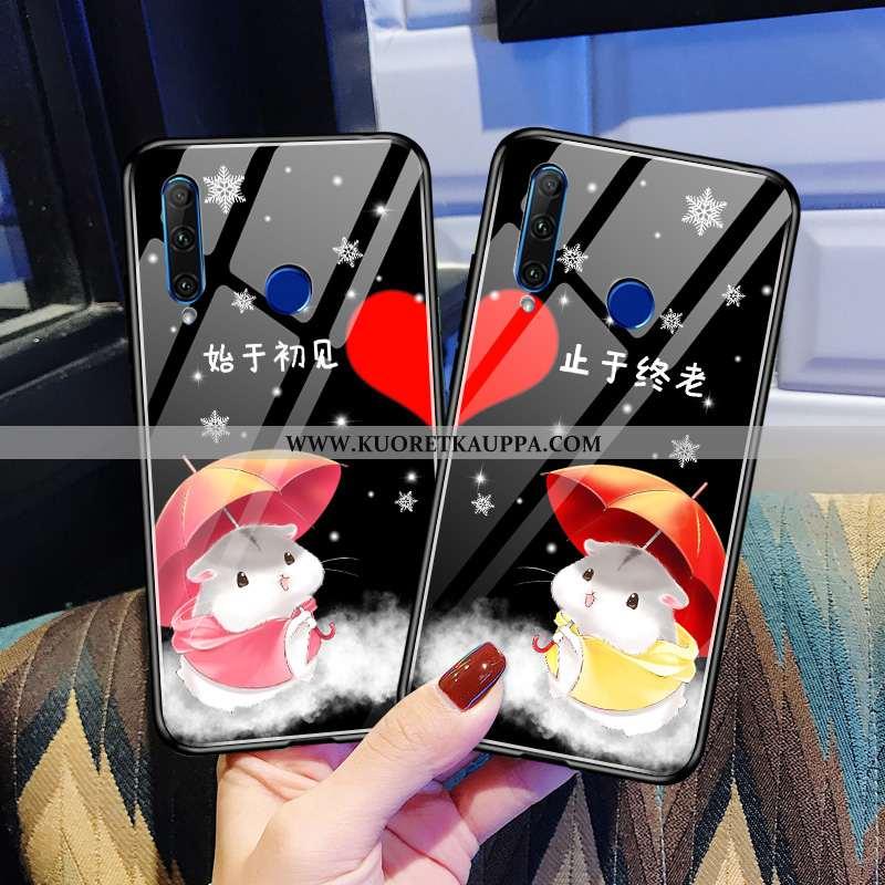 Kuori Huawei Y6p, Kuoret Huawei Y6p, Kotelo Huawei Y6p Lasi Tila Pesty Suede Kustannukset Mustat