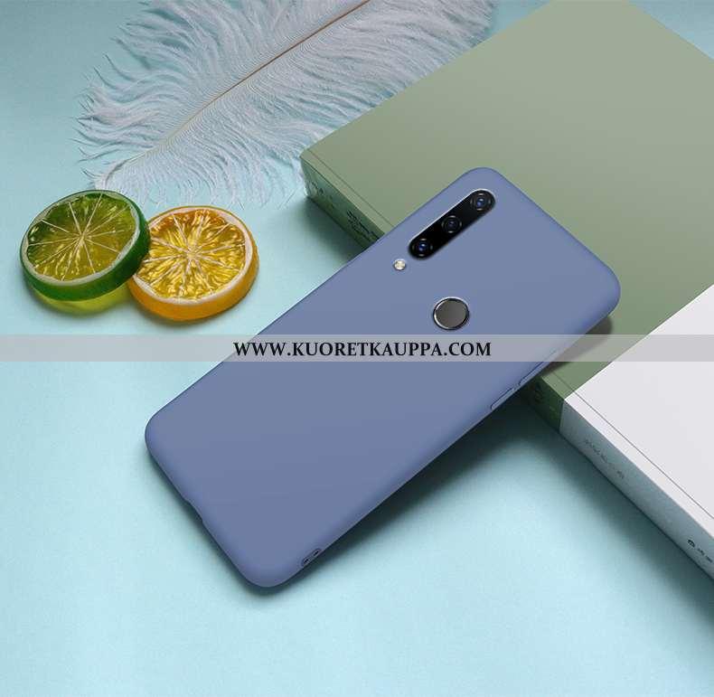 Kuori Huawei Y6p, Kuoret Huawei Y6p, Kotelo Huawei Y6p Silikoni Suojaus Puhelimen Sininen Tila
