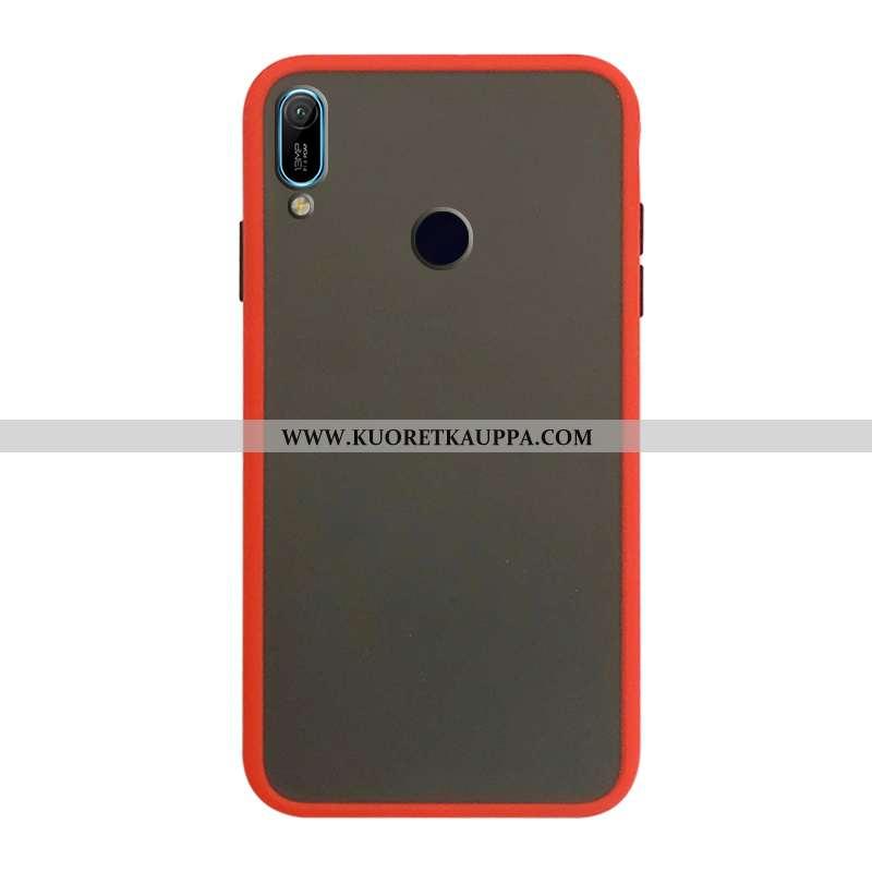 Kuori Huawei Y6s, Kuoret Huawei Y6s, Kotelo Huawei Y6s Suojaus Silikonikuori Punainen Puhelimen Murt