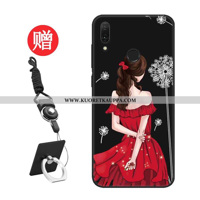 Kuori Huawei Y7 2020, Kuoret Huawei Y7 2020, Kotelo Huawei Y7 2020 Suuntaus Silikoni Punainen Näytön