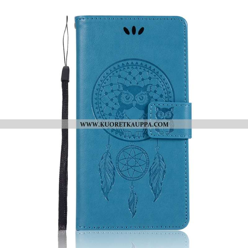 Kuori Lg G6, Kuoret Lg G6, Kotelo Lg G6 Nahkakuori Salkku Kortti Puhelimen Sininen