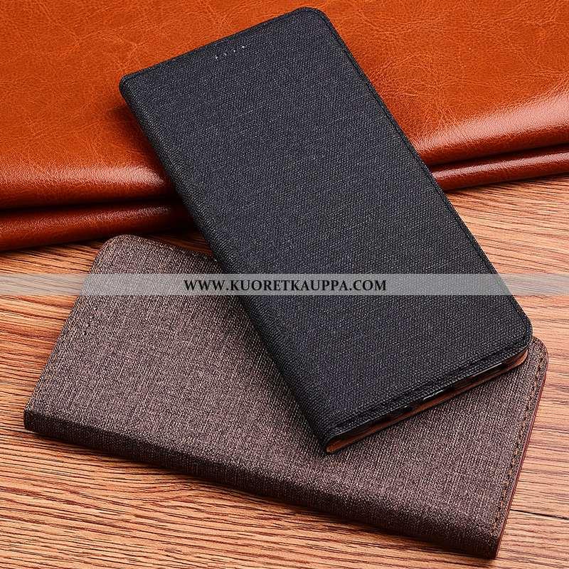 Kuori Lg Q6, Kuoret Lg Q6, Kotelo Lg Q6 Suojaus Pellava Uusi Musta Silikoni Mustat