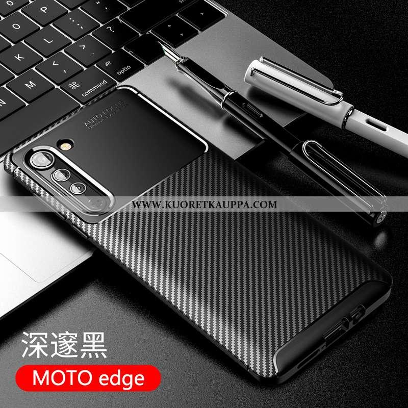 Kuori Motorola Edge, Kuoret Motorola Edge, Kotelo Motorola Edge Suojaus Pesty Suede Silikoni Murtuma