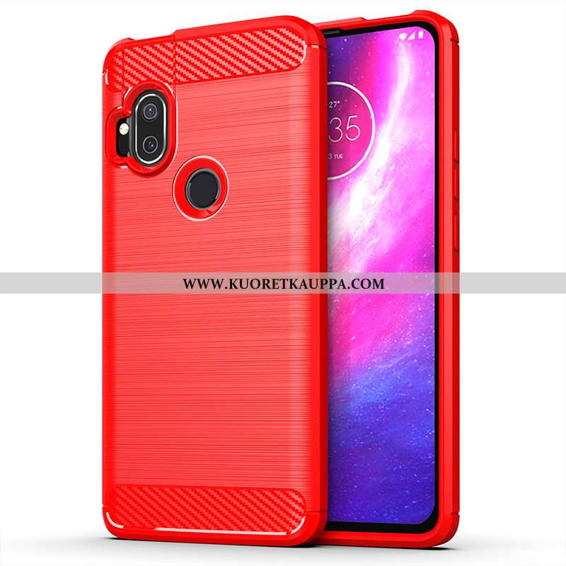 Kuori Motorola One Hyper, Kuoret Motorola One Hyper, Kotelo Motorola One Hyper Puhelimen Punainen