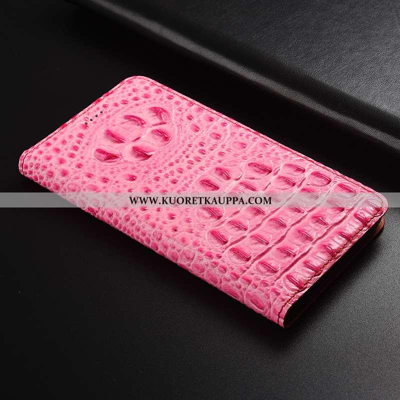 Kuori Nokia 2.1, Kuoret Nokia 2.1, Kotelo Nokia 2.1 Suojaus Nahkakuori Puhelimen Pinkki