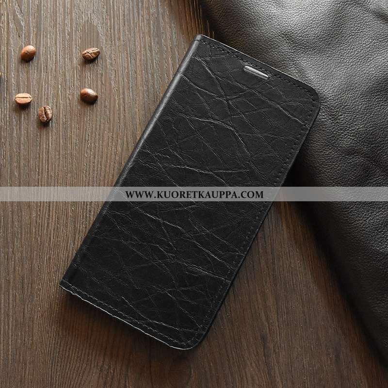 Kuori Nokia 2.2, Kuoret Nokia 2.2, Kotelo Nokia 2.2 Silikoni Suojaus Nahka Puhelimen Mustat