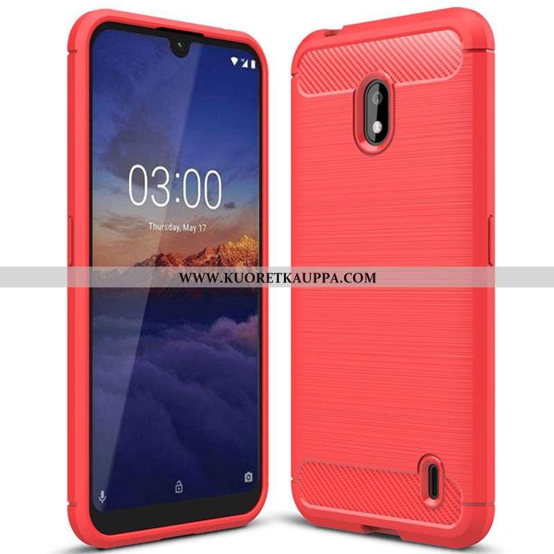 Kuori Nokia 2.2, Kuoret Nokia 2.2, Kotelo Nokia 2.2 Silikonikuori Suojaus Johdin Puhelimen Punainen