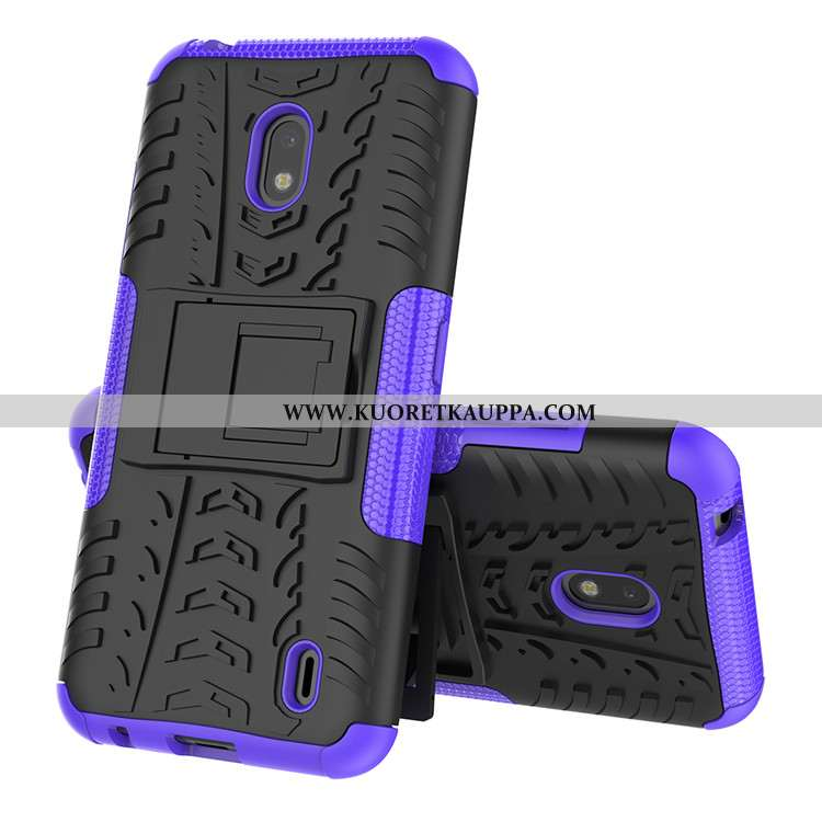 Kuori Nokia 2.2, Kuoret Nokia 2.2, Kotelo Nokia 2.2 Suojaus Silikoni Violetti Murtumaton Puhelimen