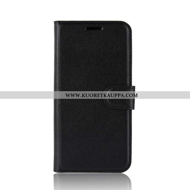 Kuori Nokia 2.2, Kuoret Nokia 2.2, Kotelo Nokia 2.2 Suuntaus Suojaus Nahkakuori Salkku Musta Mustat