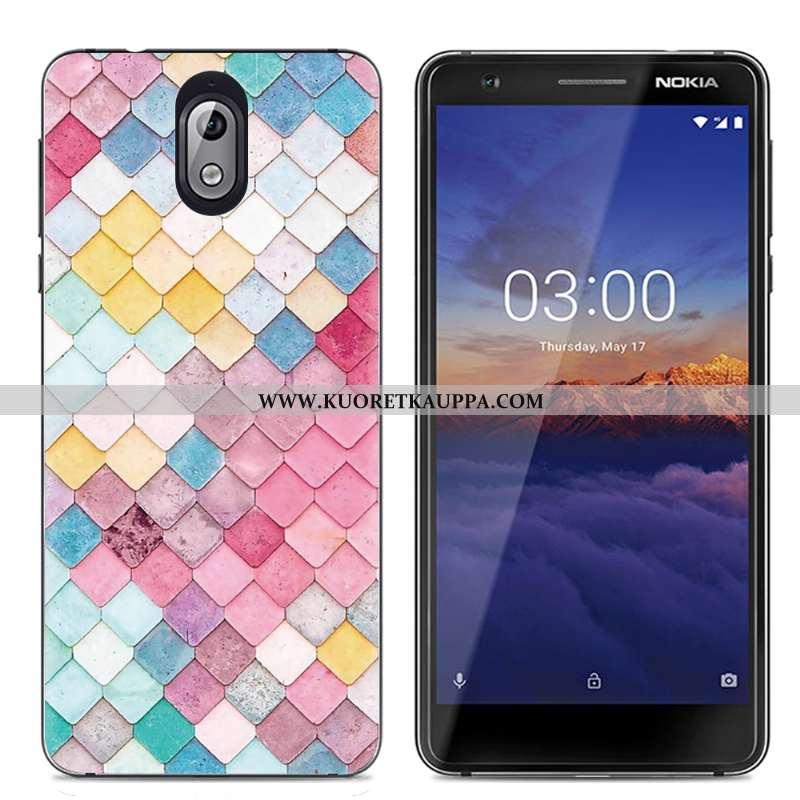 Kuori Nokia 3.1, Kuoret Nokia 3.1, Kotelo Nokia 3.1 Suojaus Läpinäkyvä Suuntaus Luova Väri