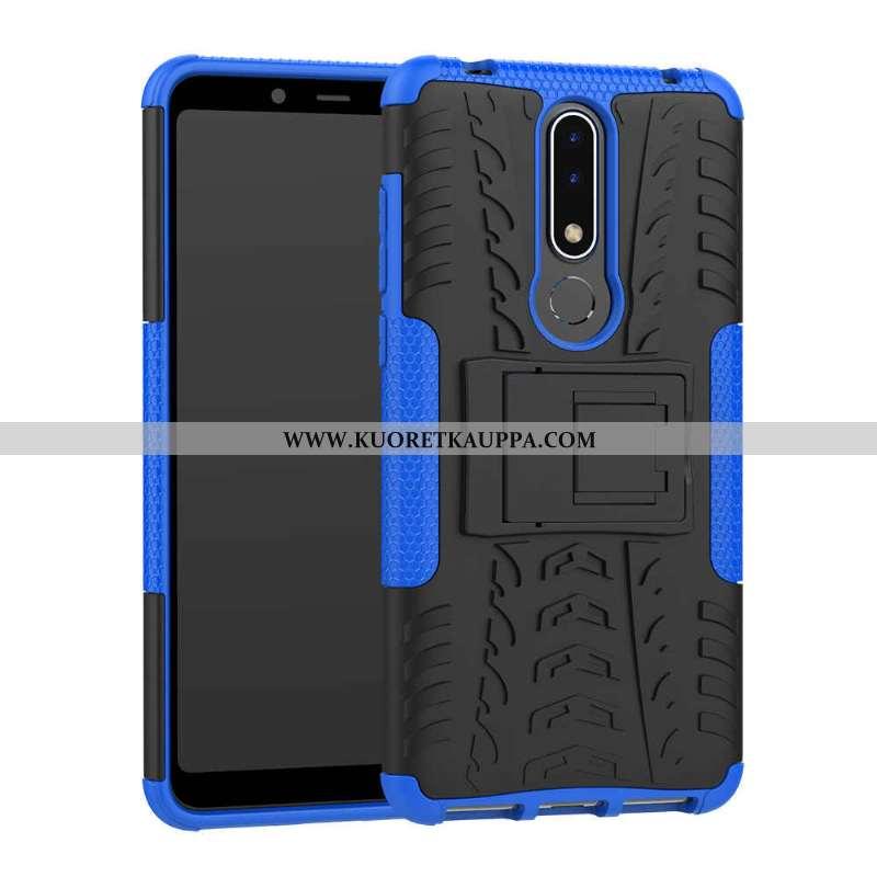 Kuori Nokia 3.1 Plus, Kuoret Nokia 3.1 Plus, Kotelo Nokia 3.1 Plus Kukkakuvio Suojaus Murtumaton Sin