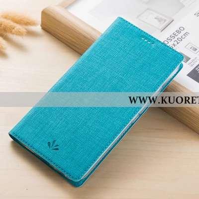 Kuori Nokia 5.1, Kuoret Nokia 5.1, Kotelo Nokia 5.1 Suojaus Nahkakuori Sininen Kortti Puhelimen