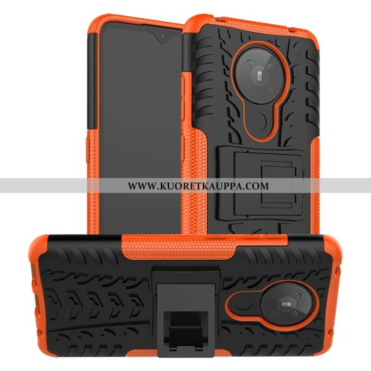Kuori Nokia 5.3, Kuoret Nokia 5.3, Kotelo Nokia 5.3 Pesty Suede Persoonallisuus Silikoni Murtumaton