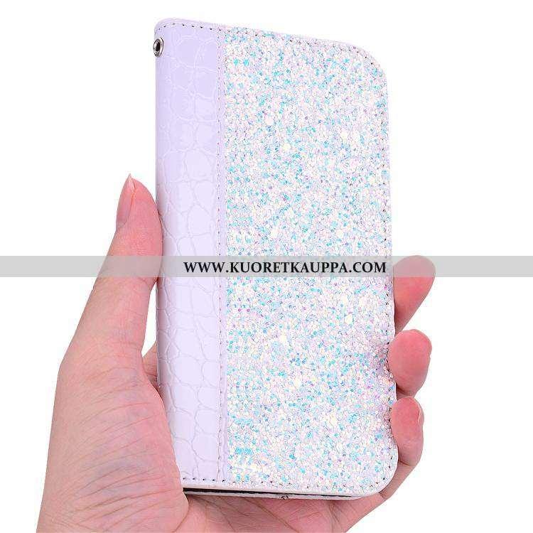 Kuori Nokia 6.1, Kuoret Nokia 6.1, Kotelo Nokia 6.1 Persoonallisuus Salkku Violetti Tuki