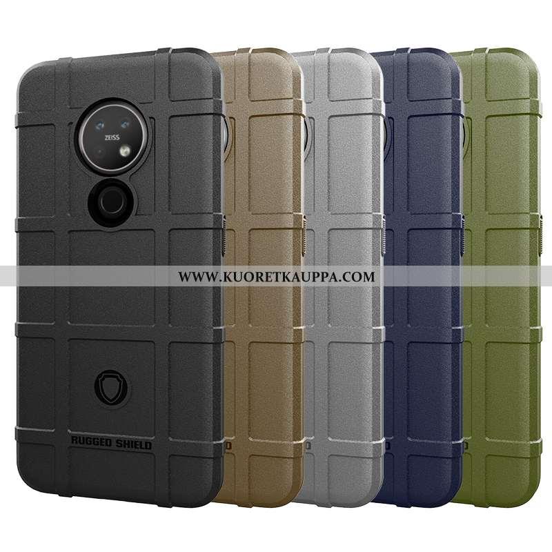 Kuori Nokia 6.2, Kuoret Nokia 6.2, Kotelo Nokia 6.2 Suojaus Suuntaus Magneettinen Auto Mustat