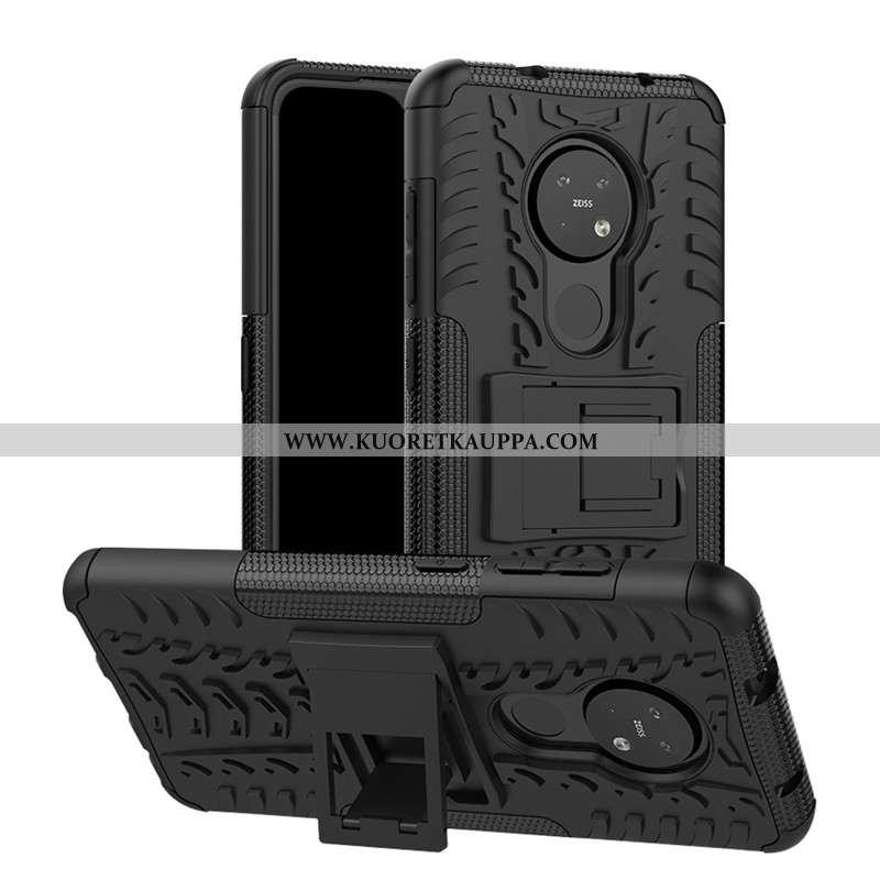 Kuori Nokia 6.2, Kuoret Nokia 6.2, Kotelo Nokia 6.2 Suojaus Tuki Musta Kova Mustat