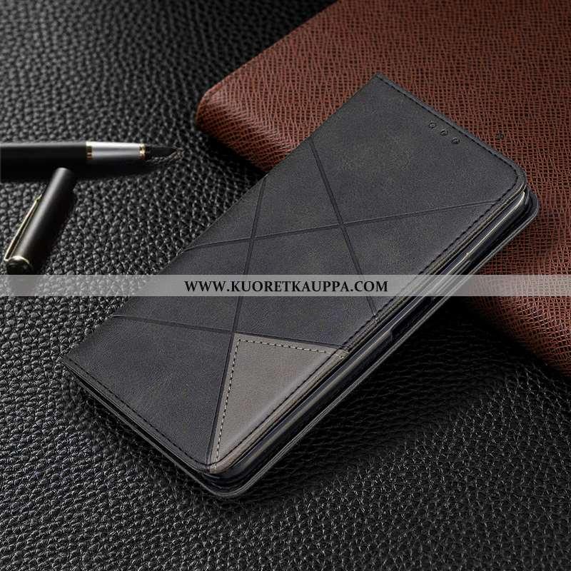 Kuori Nokia 7.1, Kuoret Nokia 7.1, Kotelo Nokia 7.1 Nahkakuori Suojaus All Inclusive Musta Mustat