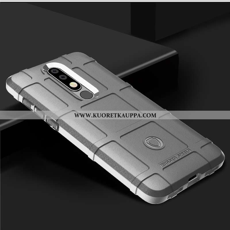 Kuori Nokia 7.1, Kuoret Nokia 7.1, Kotelo Nokia 7.1 Silikoni Suojaus Paksut Eurooppa Puhelimen Harma