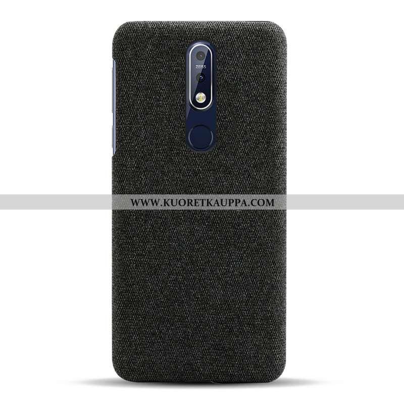 Kuori Nokia 7.1, Kuoret Nokia 7.1, Kotelo Nokia 7.1 Suojaus Valo Puhelimen Musta Mustat