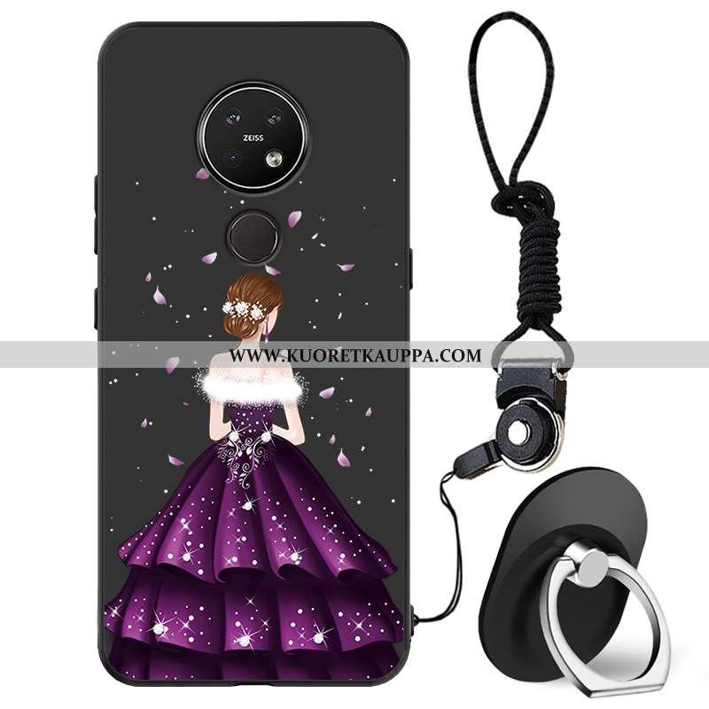 Kuori Nokia 7.2, Kuoret Nokia 7.2, Kotelo Nokia 7.2 Suojaus Tila Kustannukset Pieni Mustat