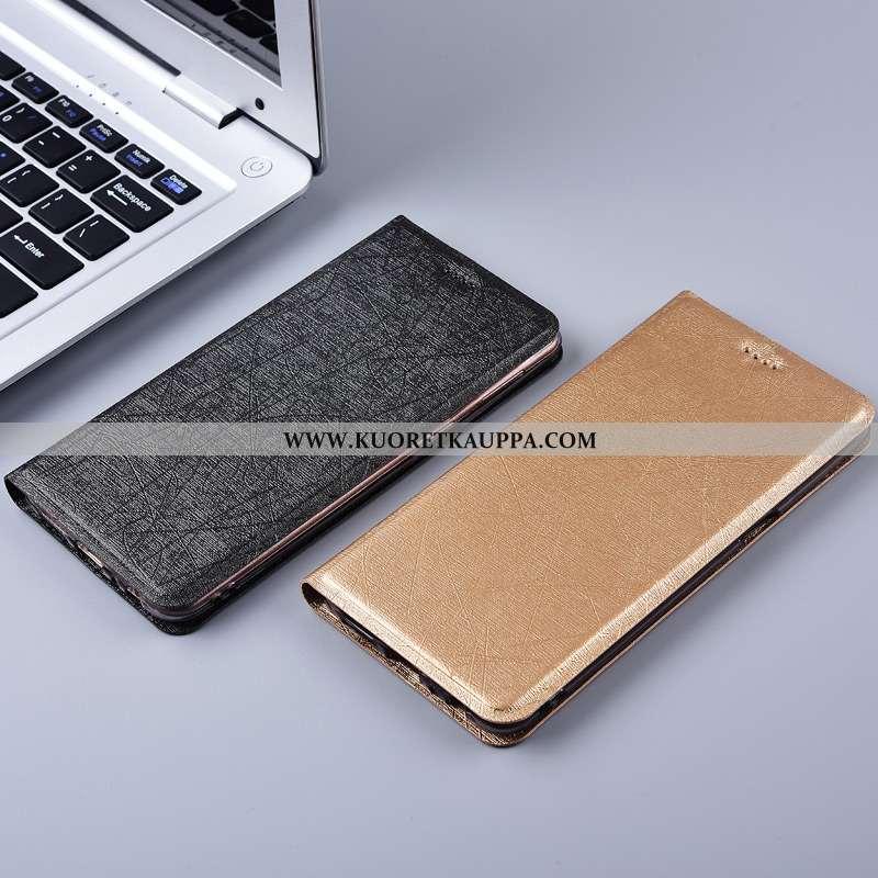 Kuori Nokia 7 Plus, Kuoret Nokia 7 Plus, Kotelo Nokia 7 Plus Nahkakuori Silikoni Suojaus Johdin Kult