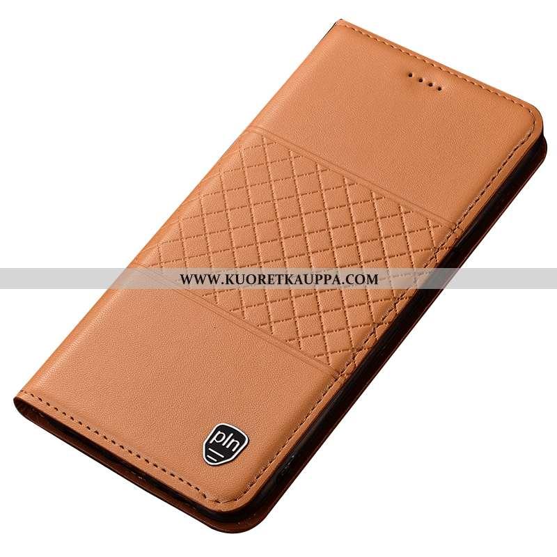 Kuori Nokia 7 Plus, Kuoret Nokia 7 Plus, Kotelo Nokia 7 Plus Suojaus Nahkakuori Puhelimen Khaki Ruud