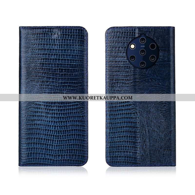 Kuori Nokia 9 Pureview, Kuoret Nokia 9 Pureview, Kotelo Nokia 9 Pureview Silikoni Suojaus Tummansini