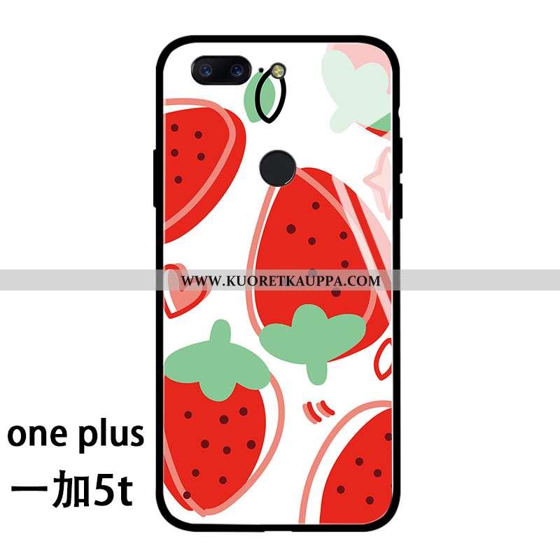 Kuori Oneplus 5t, Kuoret Oneplus 5t, Kotelo Oneplus 5t Persoonallisuus Silikoni Pieni Lasi Net Red P