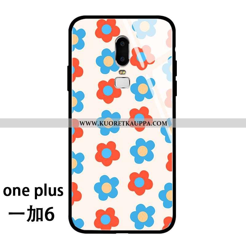 Kuori Oneplus 6, Kuoret Oneplus 6, Kotelo Oneplus 6 Pehmeä Neste Silikoni Net Red Persoonallisuus Pu