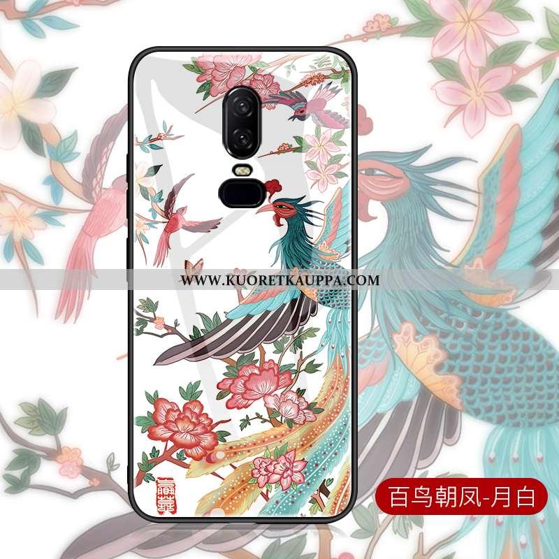 Kuori Oneplus 6, Kuoret Oneplus 6, Kotelo Oneplus 6 Valo Suojaus Ultra Valkoinen Kiinalainen Tyyli