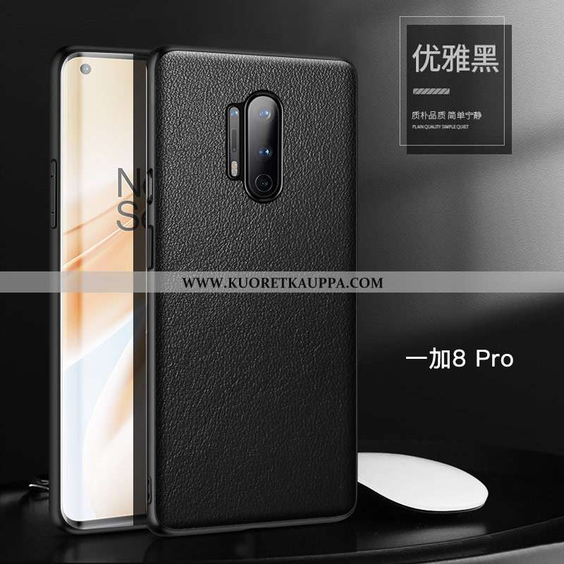 Kuori Oneplus 8 Pro, Kuoret Oneplus 8 Pro, Kotelo Oneplus 8 Pro Suuntaus Suojaus Nahka All Inclusive