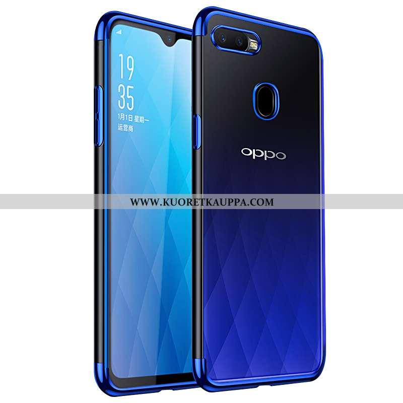 Kuori Oppo Ax7, Kuoret Oppo Ax7, Kotelo Oppo Ax7 Läpinäkyvä Suuntaus Pehmeä Neste Puhelimen Sininen