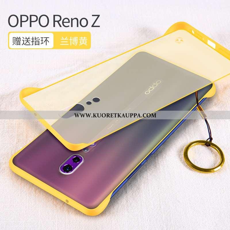 Kuori Oppo Reno Z, Kuoret Oppo Reno Z, Kotelo Oppo Reno Z Ultra Valo Puhelimen Kehys Keltaiset