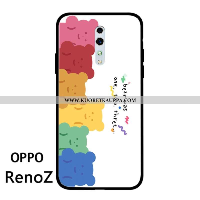 Kuori Oppo Reno Z, Kuoret Oppo Reno Z, Kotelo Oppo Reno Z Valo Silikoni All Inclusive Pieni Pehmeä N
